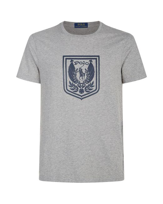Polo Ralph Lauren - Gray Eagle Pony T-shirt for Men - Lyst