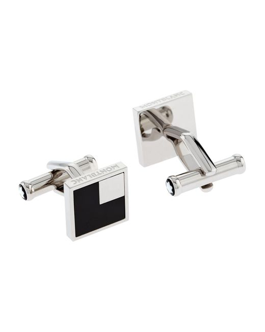 Montblanc | Black Iconic Cufflinks for Men | Lyst