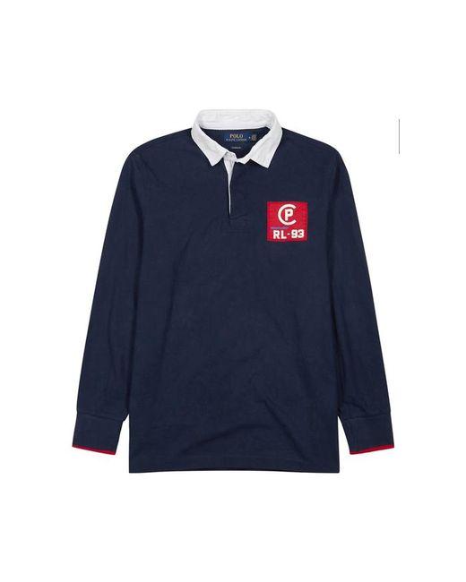 Polo Ralph Lauren - Blue Cp-93 Navy Cotton Rugby Shirt for Men - Lyst