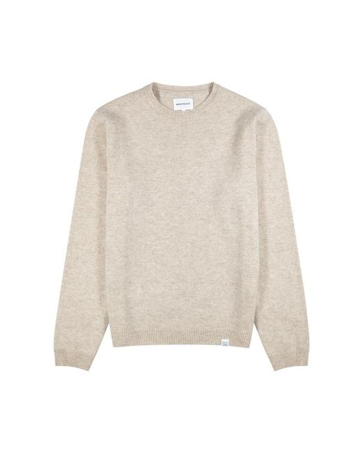 Norse Projects - Natural Egrad Sand Wool Jumper for Men - Lyst