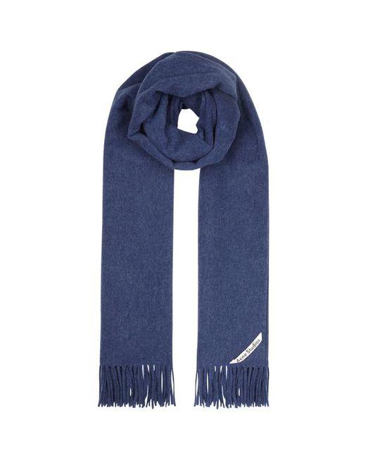 Acne - Canada Blue Wool Scarf - Lyst