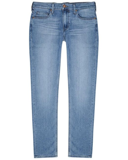 PAIGE Croft Transcend Light Blue Skinny Jeans for men