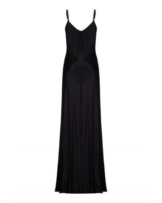 Ghost | Black Mel Satin Slip Maxi Dress  | Lyst