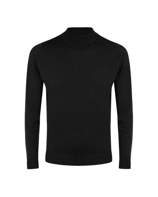 John Smedley - Harcourt Black Wool Jumper - Size L for Men - Lyst