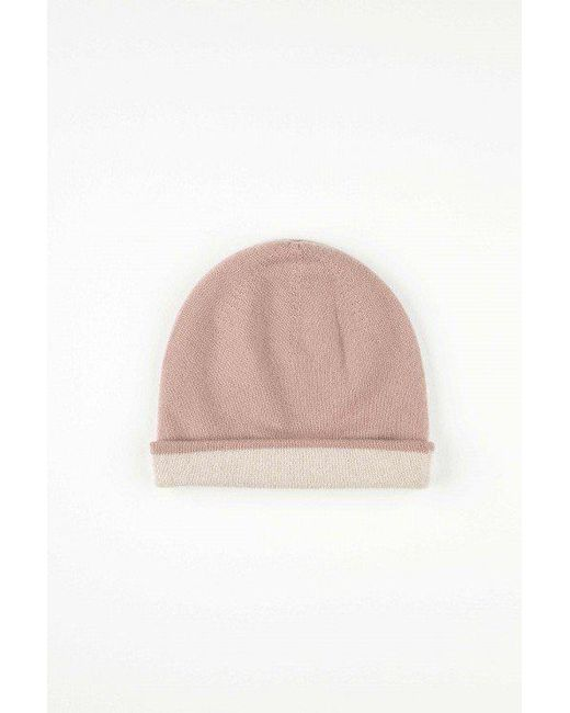 Johnstons | Pink Reversible Hat | Lyst