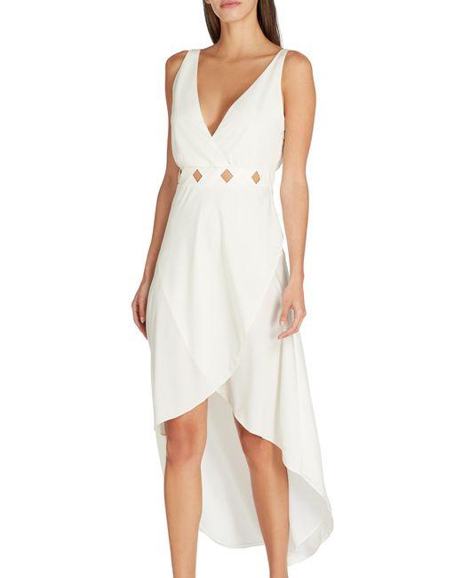 VALIMARE Serena Bandage Dress Off White