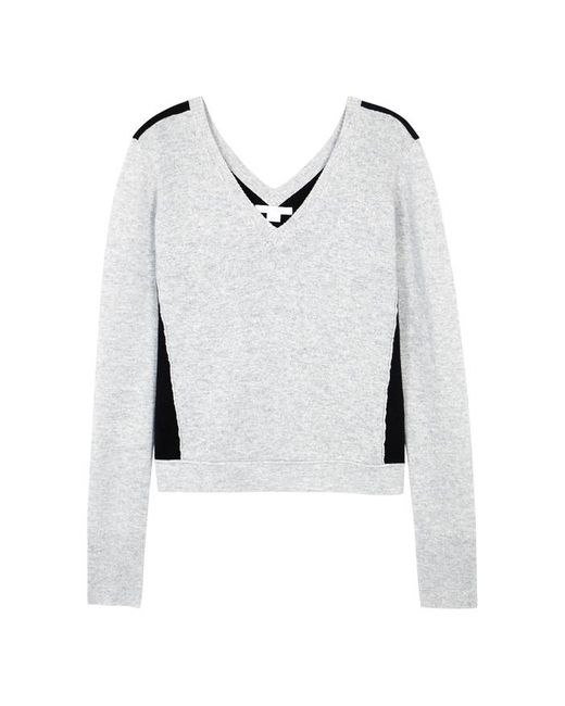 Duffy   Gray Grey And Black Cashmere Jumper   Lyst