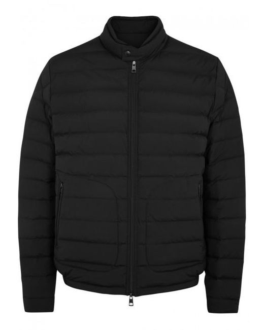 Moncler | Acorus Black Quilted Shell Jacket - Size 4 for Men | Lyst