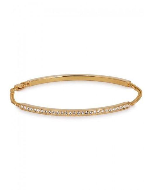 Vita Fede | Metallic Mini Aria Swarovski-embellished Bracelet | Lyst