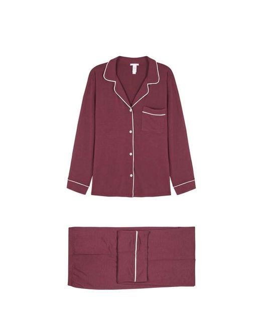 Eberjey - Purple Gisele Burgundy Pyjama Set - Lyst