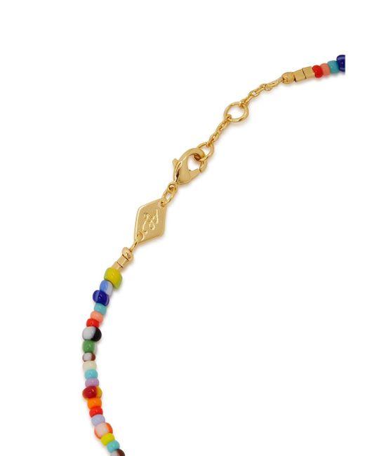 Anni Lu Multicolor Petit Alaia Beaded Anklet