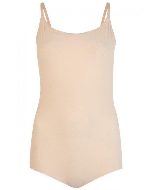 Spanx | Natural Thinstincts Smoothing Bodysuit - Size M | Lyst