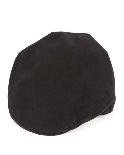 Christys' - Black Balmoral Moleskin Cotton Cap for Men - Lyst