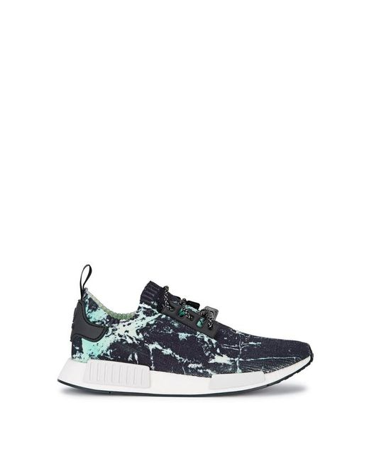 Adidas Originals - Black Nmd_r1 Printed Prime-knit Trainers for Men - Lyst