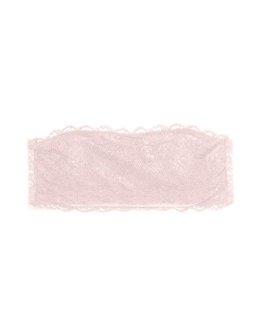 Cosabella Never Say Never Flirtie Bandeau Bra   Pink Lilly