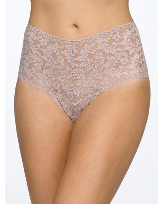 Hanky Panky - Multicolor Retro High Waisted Lace Thong - Lyst