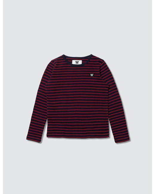 WOOD WOOD | Blue Kim L/s T-shirt for Men | Lyst