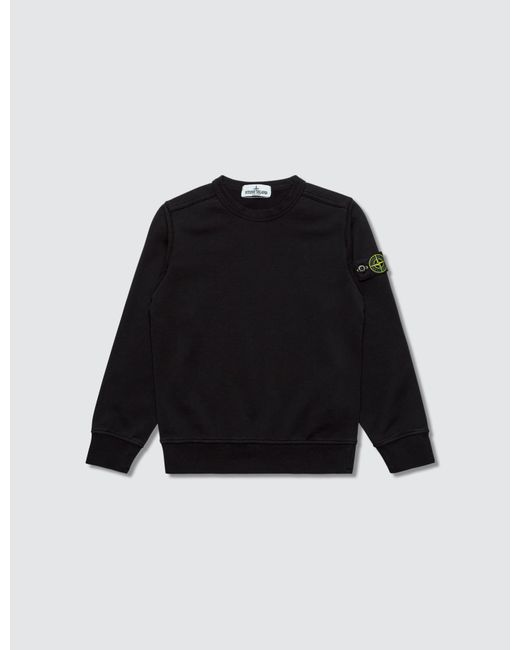 Stone Island Black Kid Sweatshirt for men