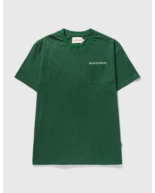 Victoria Green Linguistic T-shirt for men