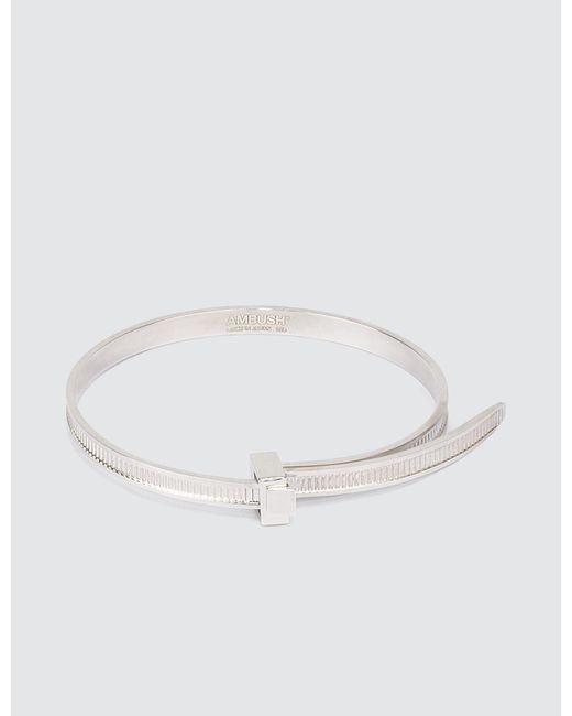 Ambush | Metallic Sss Zip Tie Bracelet | Lyst