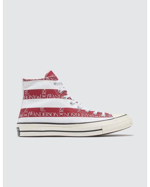 5b35daaebed7 Converse - Blue X Jw Anderson Chuck 70 Hi Sneaker for Men - Lyst ...