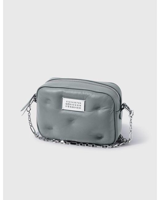 Maison Margiela Blue Glam Slam Small Box Bag