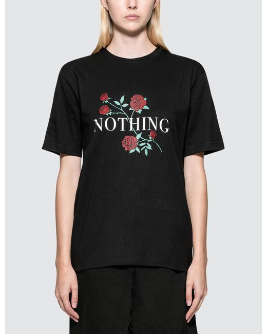 Wasted Paris - Black Nothing S/s T-shirt - Lyst