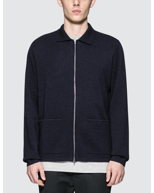 Norse Projects | Blue Magne Milano Knitted Sweater for Men | Lyst