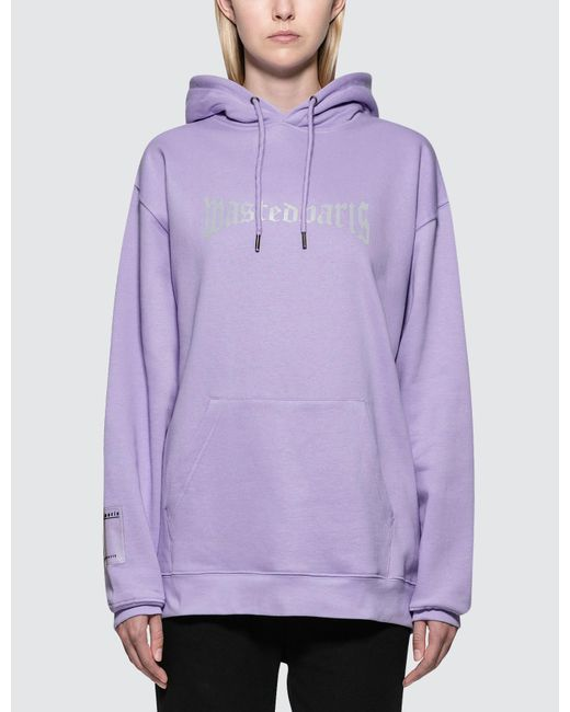 Wasted Paris - Purple London Reflective Hoodie - Lyst