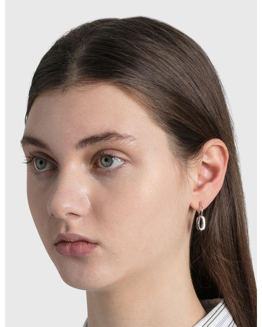 Justine Clenquet Metallic Debbie Earrings