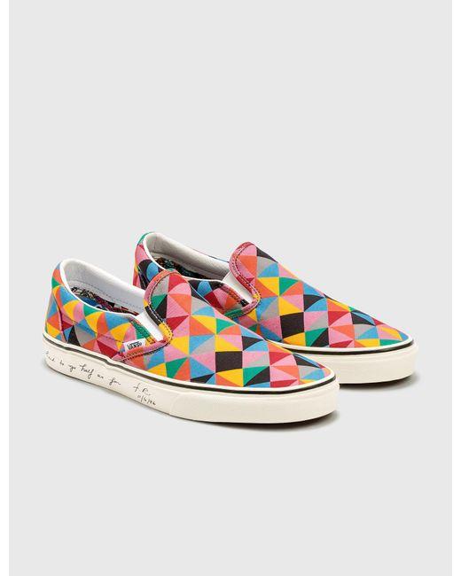 Vans Multicolor X Moma Classic Slip-on for men