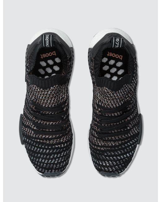 Adidas Originals Men Nmd R1 Stlt Primeknit In Schwarz For Men