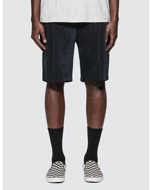 Champion - Blue Small Logo Shorts for Men - Lyst