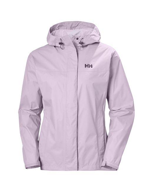 Helly Hansen Purple Loke Hiking Shell Jacket L