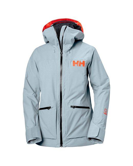 Helly Hansen Blue Powderqueen 3.0 Durable Ski Jacket L
