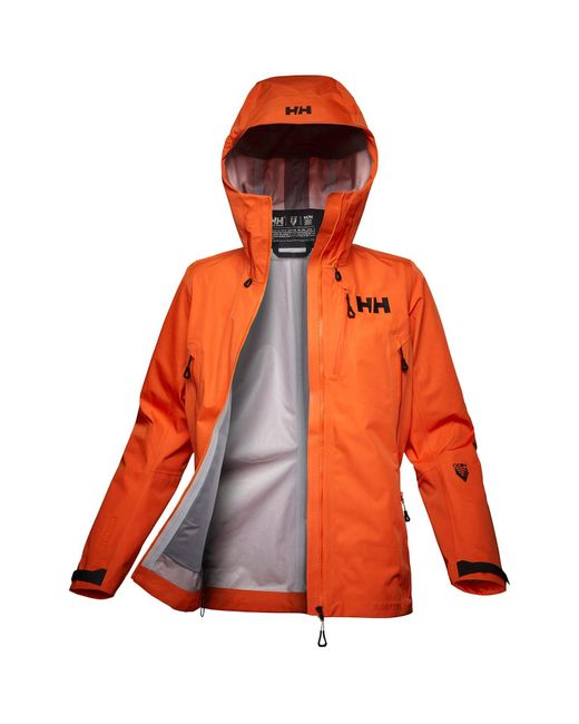 Helly Hansen Orange Odin 9 Worlds Infinity Shell Jacket