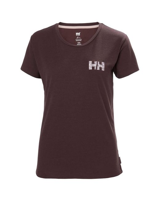 Helly Hansen Multicolor Skog Recycled Graphic Jersey Tshirt L