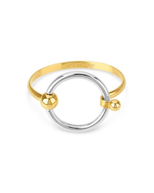 Henri Bendel | Metallic Bendel Metal Hook Bracelet | Lyst