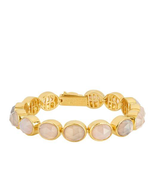 Henri Bendel | Gray Luxe Bali Semi Precious Bracelet | Lyst