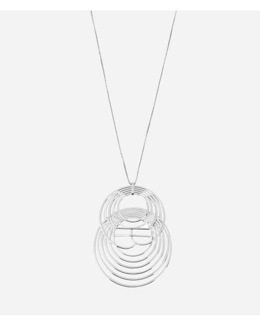Henri Bendel | Metallic Luxe Coin Link Pendant | Lyst