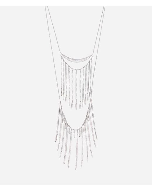 Henri Bendel | Multicolor Luxe Fringe Double Necklace | Lyst