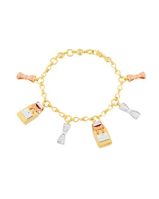 Henri Bendel - Metallic Perfume Charm Bracelet - Lyst