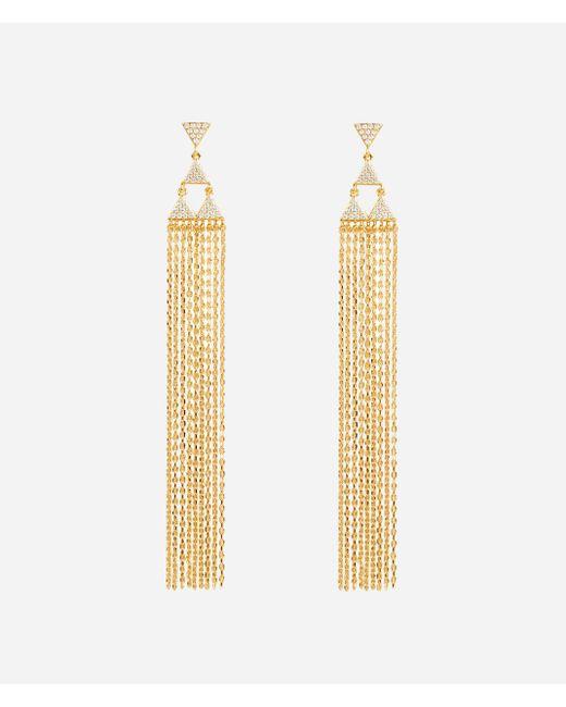 Henri Bendel | Metallic Luxe Bali Fine Lines Tassel Earring | Lyst