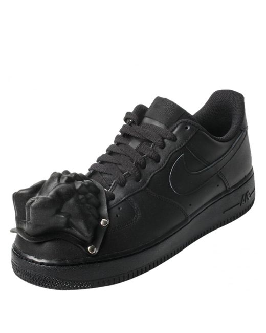 aec7d2b694355e ... Comme des Garçons Black Nike Moulded Dinosaur Air Force 1 Sneakers Lyst  . ...