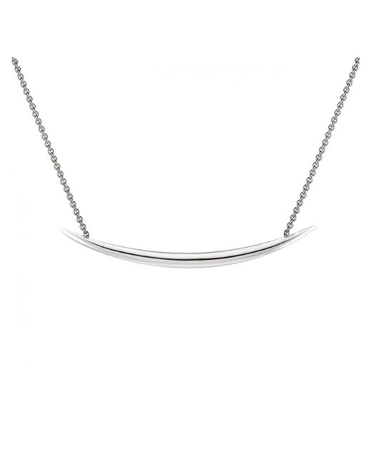 Shaun Leane - Metallic Sterling Silver Quill Necklace - Lyst