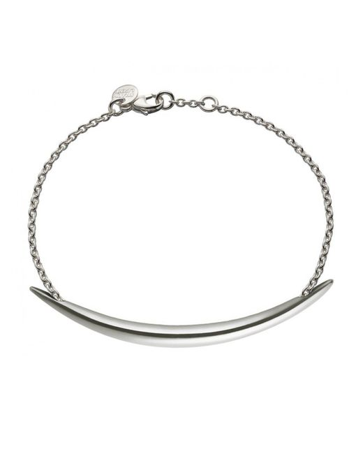 Shaun Leane - Metallic Sterling Silver Quill Chain Bracelet - Lyst