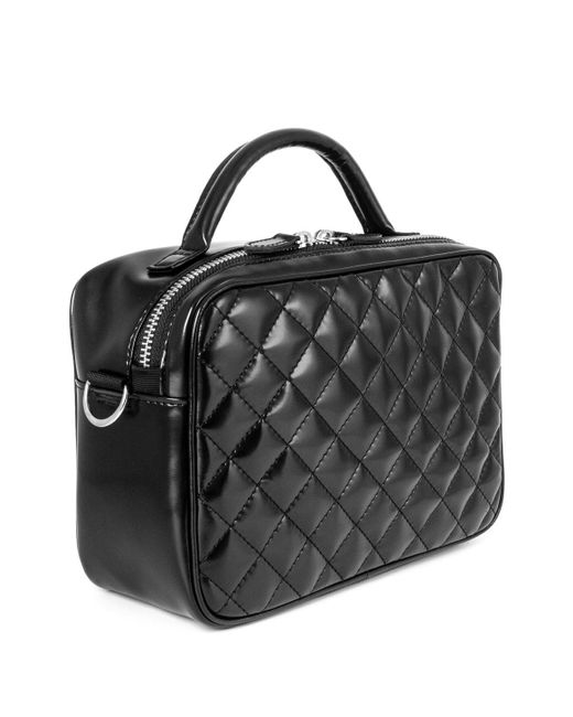 Junya Watanabe Black Quilted Box Bag for men
