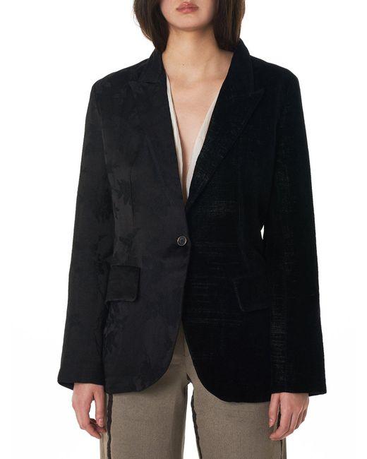 Uma Wang - Black 'kaikura' Split Blazer - Lyst
