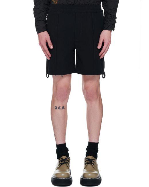 1017 ALYX 9SM Black Track Short for men