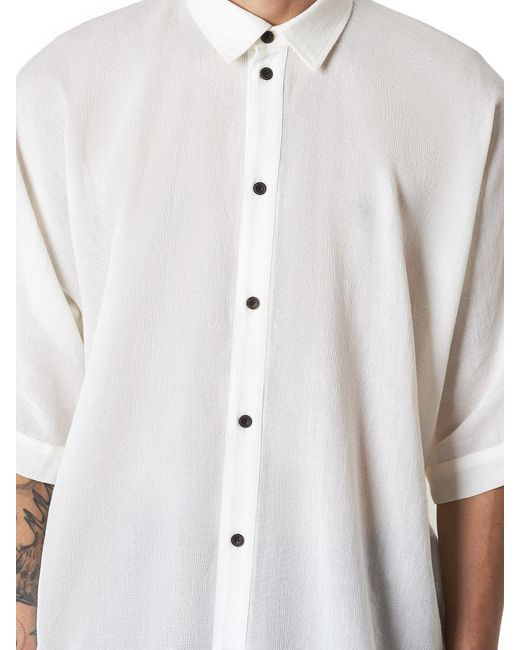893add41044 ... Jan Jan Van Essche - White Boxy Shirt for Men - Lyst ...
